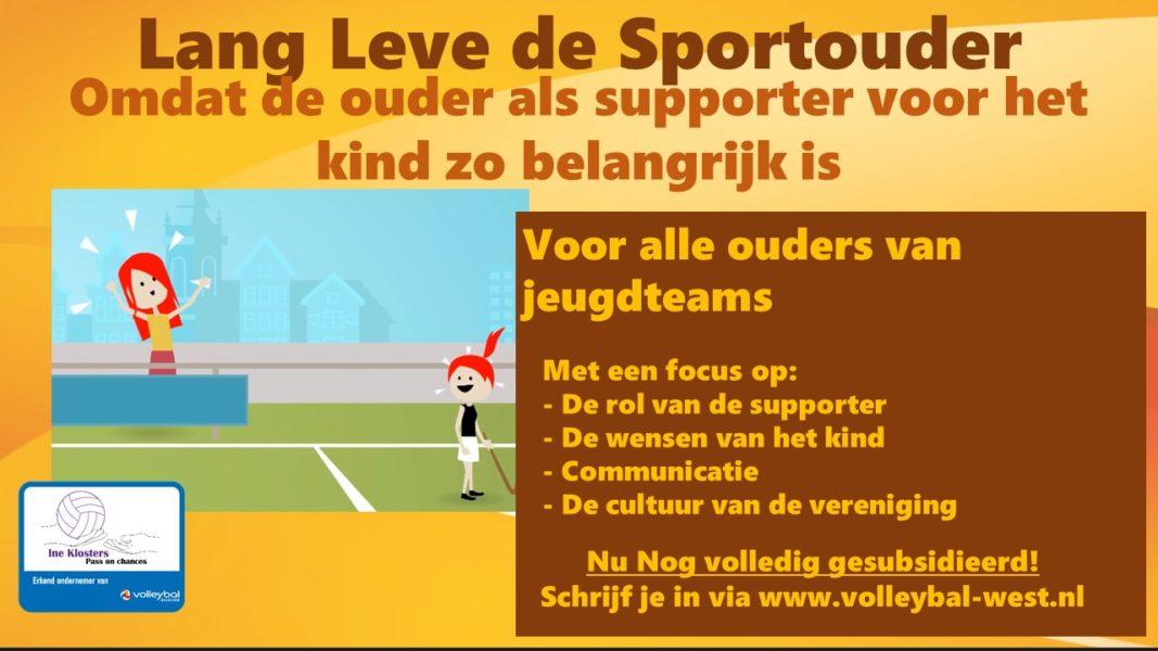 Lang leve de sportouder