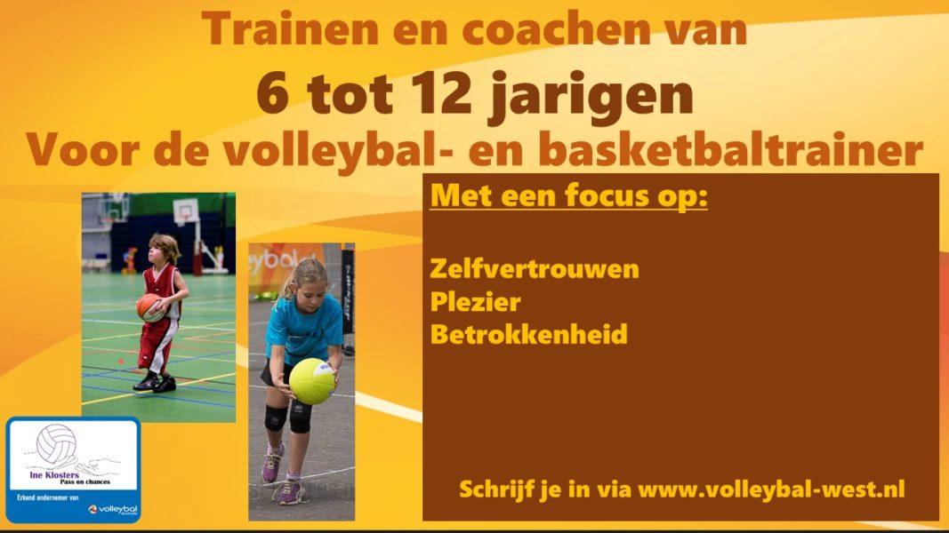Het trainen en coachen van 6 tot 12 jarigen