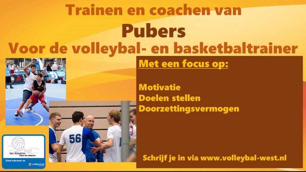 Het trainen en coachen van Pubers