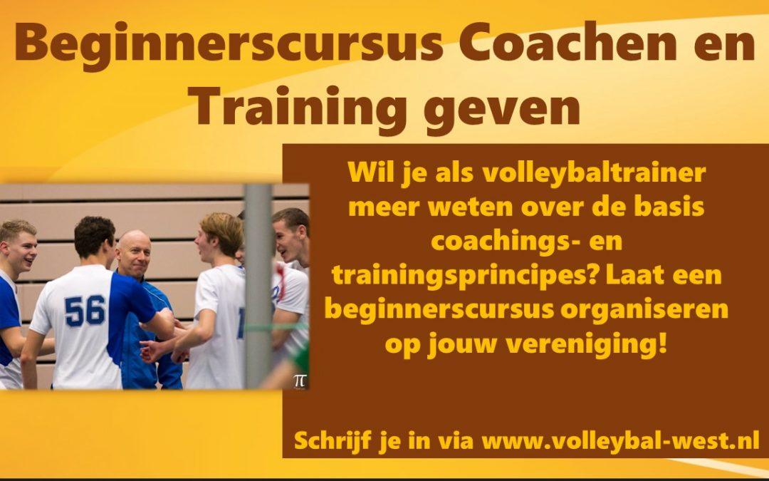 Beginnerscursus Training Geven en Coachen