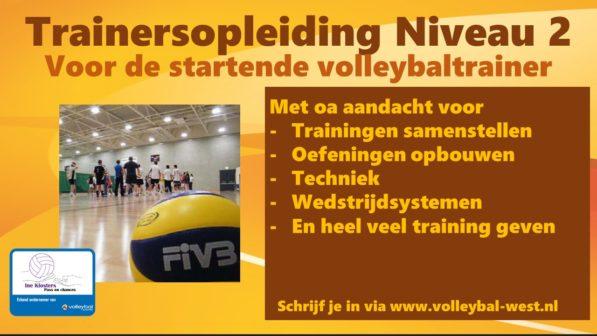 VT2 volleybal, Nevobo opleiding voor de volleybaltrainer