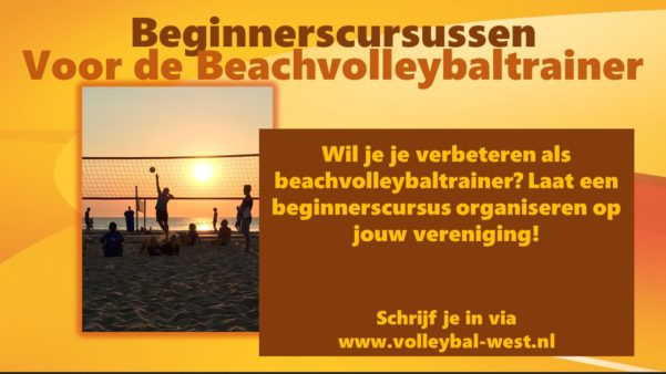 Beginnerscursus Beachvolleybaltrainer
