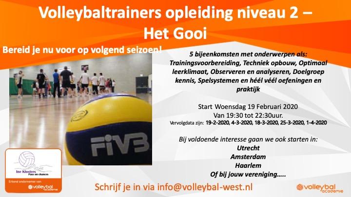 VT2 regio 't Gooi – start 19 februari 2020 (woensdagavond)